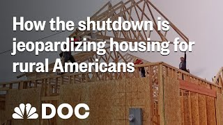 How The Shutdown Could Leave Thousands Of Rural Americans Without A Home | NBC News