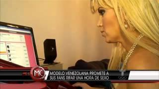 Kandy Strauss Rifa sexo a los 50.000, Al Rojo Vivo Telemundo NBC