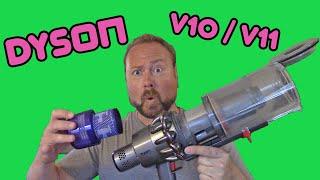 Dyson V10 / V11 - How To Empty…