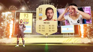 LIONEL MESSI IN PACK !!! FIFA 21 PACK OPENING !!!