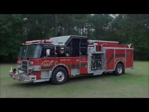 Used Fire Trucks For Sale >> Used Fire Trucks For Sale 1998 Pierce Lance Rescue Pumper Youtube