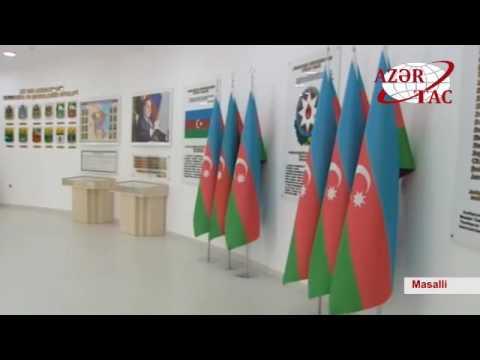 President Ilham Aliyev opened Flag Square and Azerbaijan State Symbols Museum in Masalli