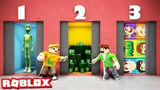 HOW MANY DOORS CAN YOU OPEN! Meme & Scary Doors in Roblox! (Roblox)