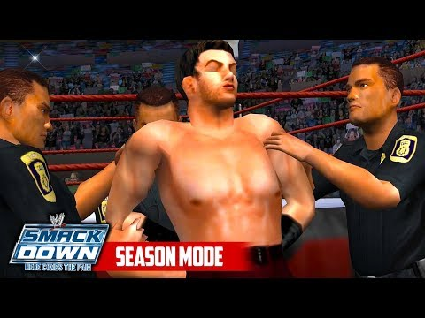 CHRIS DANGER ARRESTED!! | WWE Smackdown HCTP SEASON MODE (Ep 20)