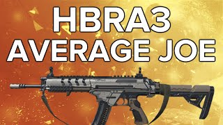 Advanced Warfare In Depth: HBRa3 Average Joe (Marksman Variant, Very Good!)