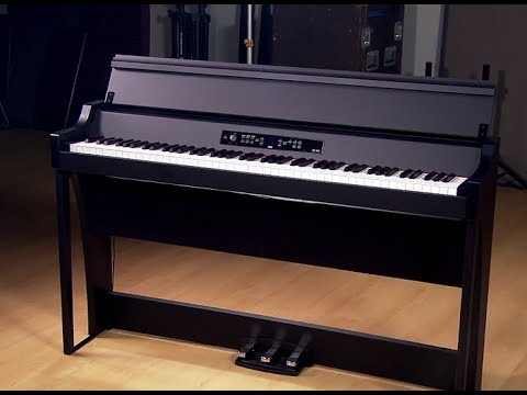 Korg G1 Air Digital Piano - Demo with Frank Tedesco
