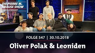 Die Pierre M. Krause Show vom 30.10.2018 mit Oliver und Leoni