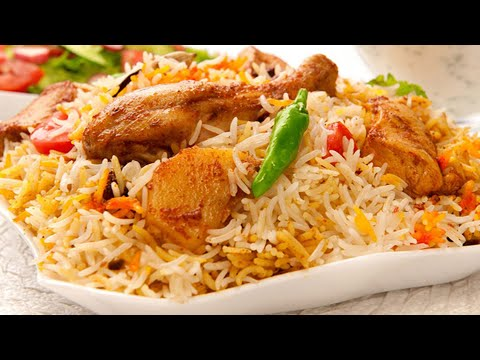 Chicken Biryani Recipe • How To Make Biryani Rice Recipe • Tasty Chicken Rice Recipes Indian
