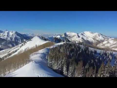 Park City Backcountry Skiing Early December 2016