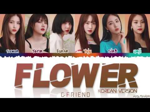 GFRIEND (여자친구) - 'FLOWER' (Korean Version) Lyrics [Color Coded_Han_Rom_Eng]