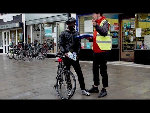 London Bike Shop Gives Refugees 'free Ride'