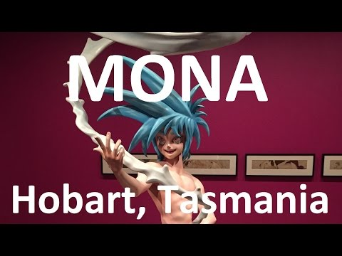 The incredible MONA in Hobart (Museum of Old and New Art)