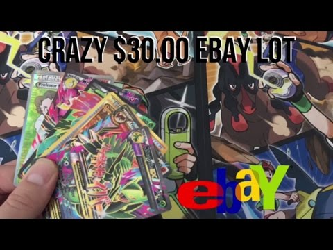 CRAZY $30 EBAY LOT (10 FULL ARTS, SECRET RARES, EX's AND MORE MUST WATCH) Pokemon TCG Opening