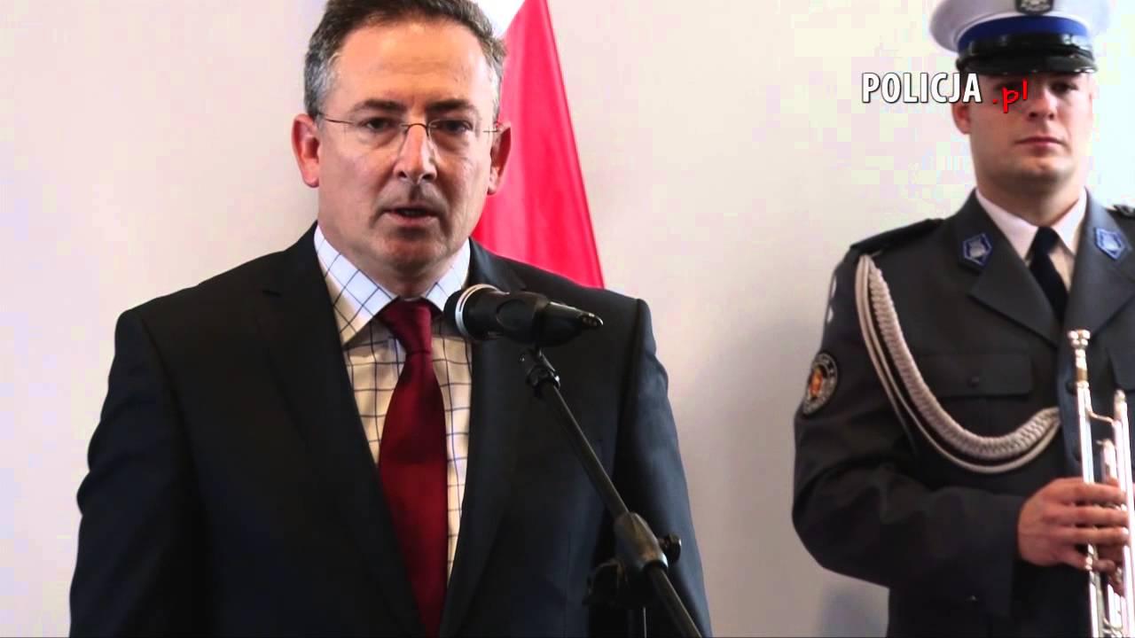 Polska Policja - Chwała bohaterom! Minister Sienkiewicz wręczył