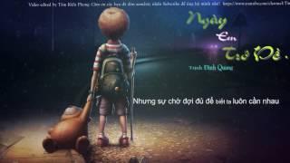 Ngày Em Trở Về - Trịnh Đình Quang ( Lyrics Video )