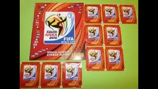 Complete 100% Panini WorldCup South Africa 2010 Sticker album + COCA-COLA Stickers!!!!!!