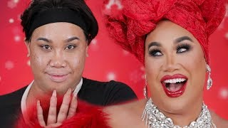 HOLIDAY MAKEUP TRANSFORMATION | PatrickStarrr
