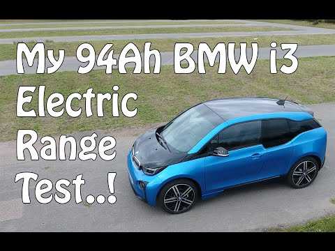 94Ah BMW i3 Battery Range Test - Real World General Commuting - 124 Miles Achieved