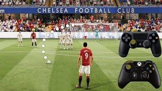 Fifa 17 impossible free kick tutorial / trivela | xbox & ps | hd