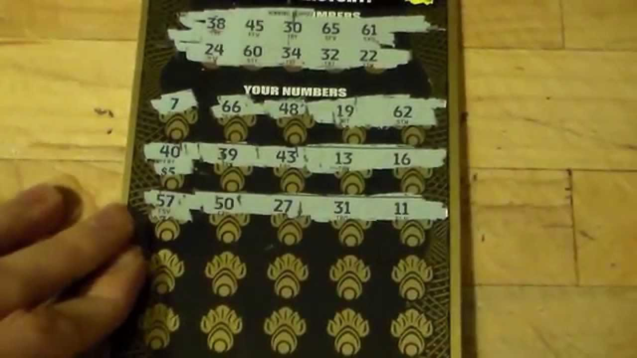 Colorado Lottery's $50 Scratch Ticket! Best Odds Ever!