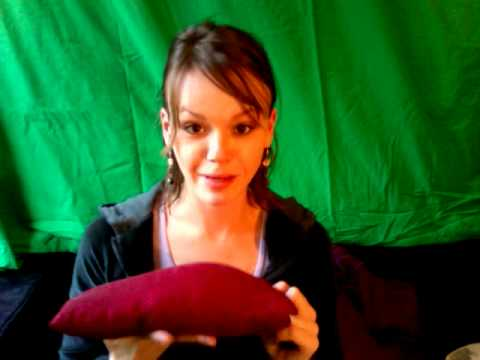 How To Make A Flax Seed Heat Therapy Pillow