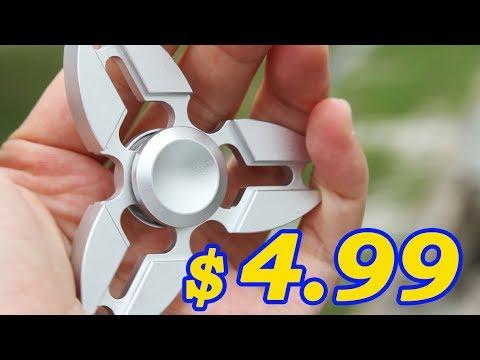only$4.99-super-light-zanhoo-metal-aluminum-tri-fidget-relieve-hand-finger-spinner---silver