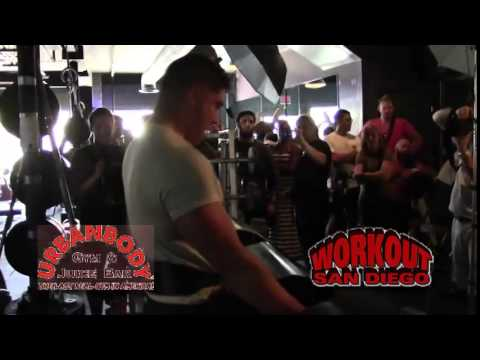WorkOut San Diego & Samantha Theisen at Urban Body Gym StrongMan-StrongWoman Challenge