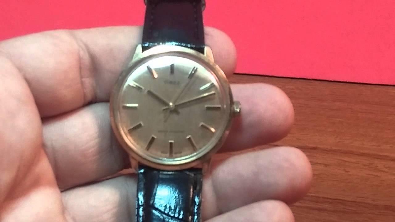 6fe764636e33 Bellísimo reloj de los 60 a cuerda Timex