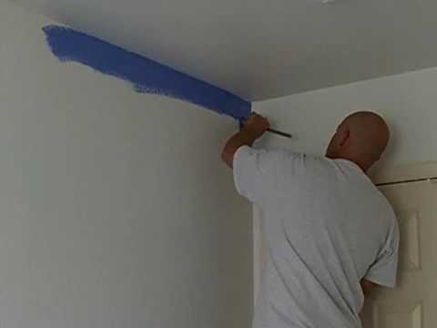 Interior Painting How To Cut In An Accent Wall Part Of