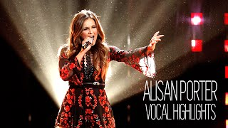 Vocal Highlights on The Voice: Alisan Porter (E3 - B5)