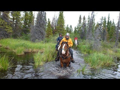 Yukon Trail 2015 - Horse Back Riding with Pierre Fournier (short Version)