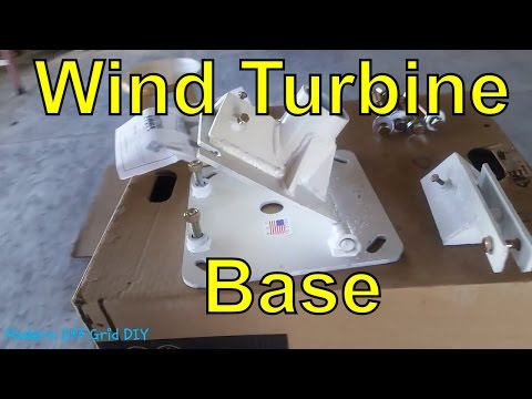 New Wind Turbine Base From Cutting Edge Technology