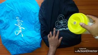 Skybag backpack rain cover vs cosmus backpack rain cover review