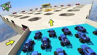 GTA 5 ONLINE 🐷 MEGA SUMO MONSTER TRUCK !!! 🐷 LTS 🐷N*268🐷 GTA 5 ITA 🐷 DAJE !!!!!!!