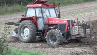 Ursus 1224 + pług wahadłowy + cambell - Orka / plowing / pflügen / labour