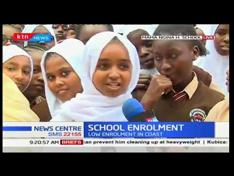 School Enrolment: Fred Matiang'i tours coast amidst low school enrolment