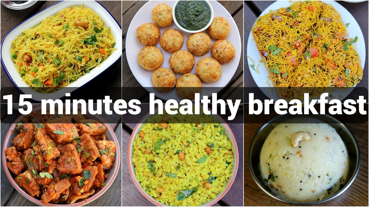 15 Minutes Instant Breakfast Recipes Quick Easy Monday 2 Saturday Morning Breakfast Youtube