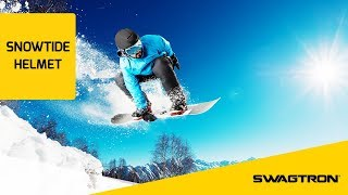 HIT THE SLOPES - Swagtron Snowtide Smart Helmet