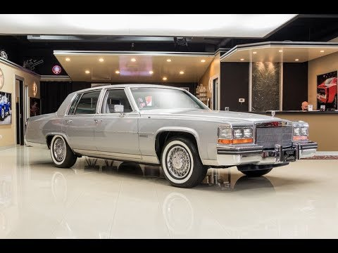 1982 Cadillac Fleetwood For Sale Youtube