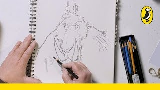 Chris Riddell | Draw-Along | A Banderbear from The Edge Chronicles