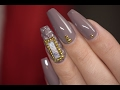Capitone Style Nails with Handmade Marble Stone | Red Iguana | April Ryan