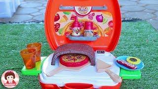 รีวิวของเล่น ชุดเปิดร้านพิซซ่า ของเล่นเครื่องครัว ของเล่นทำอาหาร