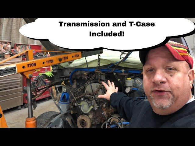 Removing Dodge Drivetrain | SEMA Truck Build