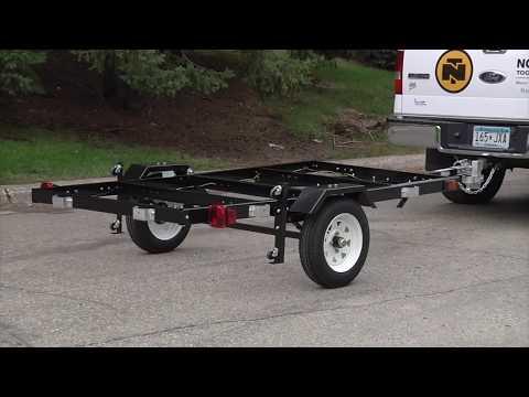 Ironton Folding Trailer Kit - 4Ft. x 8Ft.