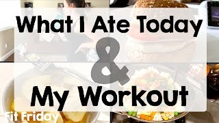 What I Eat In A Day & Work Out With Me | STAY AT HOME MOM | Vlog Style