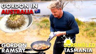 Gordon Ramsay Makes Sea Urchin Scrambled Eggs in Australia | Scrambled