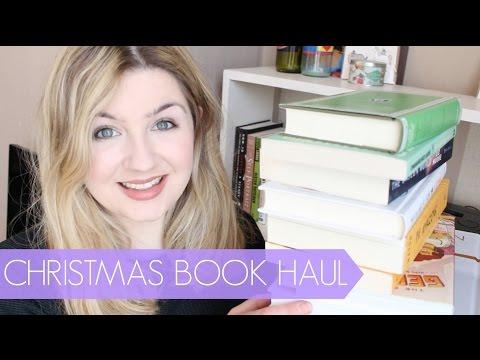 THE CHRISTMAS BOOK HAUL
