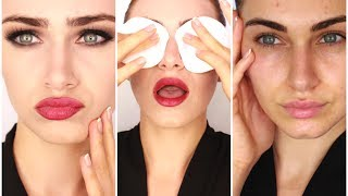 Get Unready With Me - Evening Skincare Routine | RubyGolani Thumbnail