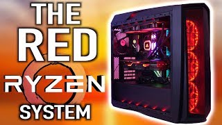 The Red Ryzen Our Best AMD System Build Yet!