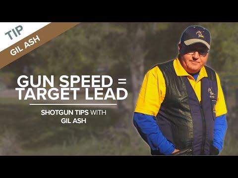 Gun Speed Must Equal Target Lead - Sporting Clays Tip